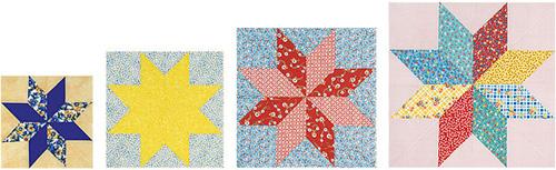 gabarit patchwork toiles. Black Bedroom Furniture Sets. Home Design Ideas